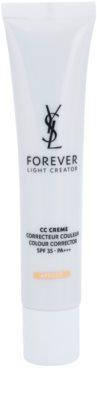 Yves Saint Laurent Forever Light Creator CC krem wyrównujący koloryt skóry SPF 35