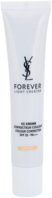 Yves Saint Laurent Forever Light Creator Crema CC pentru un ten uniform SPF 35