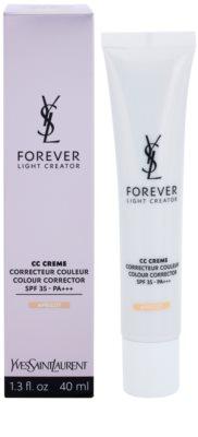 Yves Saint Laurent Forever Light Creator CC krem wyrównujący koloryt skóry SPF 35 1