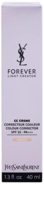 Yves Saint Laurent Forever Light Creator CC krem wyrównujący koloryt skóry SPF 35 2