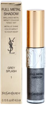 Yves Saint Laurent Full Metal Shadow tekuté oční stíny s vysokým leskem 2