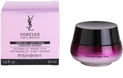 Yves Saint Laurent Forever Youth Liberator creme de noite antirrugas 3