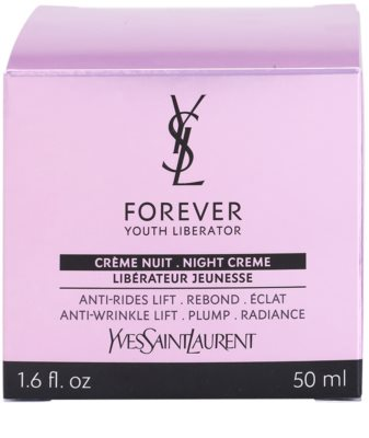 Yves Saint Laurent Forever Youth Liberator creme de noite antirrugas 4