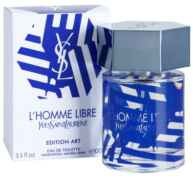 Yves Saint Laurent L'Homme Libre Art Edition Eau de Toilette para homens 1