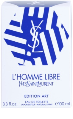 Yves Saint Laurent L'Homme Libre Art Edition Eau de Toilette para homens 4