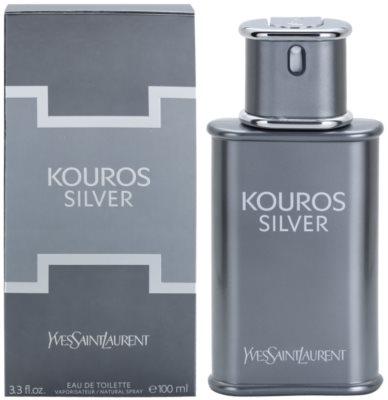 Yves Saint Laurent Kouros Silver Eau de Toilette pentru barbati