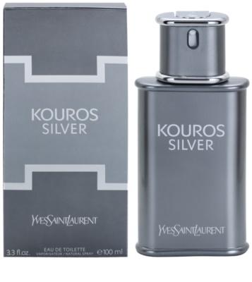 Yves Saint Laurent Kouros Silver туалетна вода для чоловіків