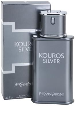 Yves Saint Laurent Kouros Silver toaletná voda pre mužov 1