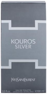 Yves Saint Laurent Kouros Silver toaletná voda pre mužov 3