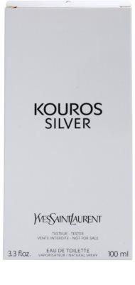 Yves Saint Laurent Kouros Silver тоалетна вода тестер за мъже 1