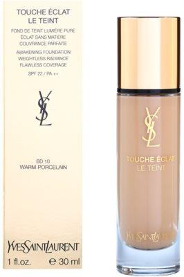 Yves Saint Laurent Touche Éclat Le Teint maquillaje de larga duración para iluminar la piel SPF 22 2