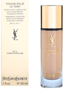 Yves Saint Laurent Touche Éclat Le Teint dlouhotrvající make-up pro rozjasnění pleti SPF 22 2