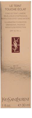 Yves Saint Laurent Touche Éclat Le Teint rozświetlający makeup SPF 19 3