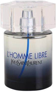 Yves Saint Laurent L´Homme Libre Eau de Toilette tester pentru barbati