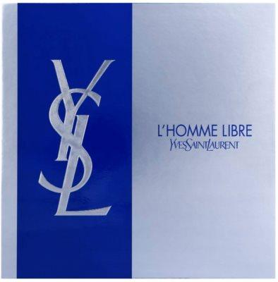 Yves Saint Laurent L´Homme Libre seturi cadou 2