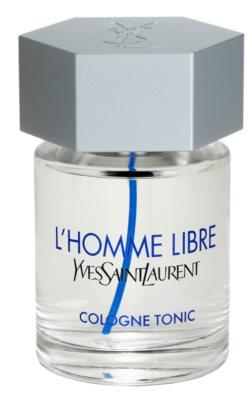 Yves Saint Laurent L´Homme Libre Cologne Tonic одеколон для чоловіків 2