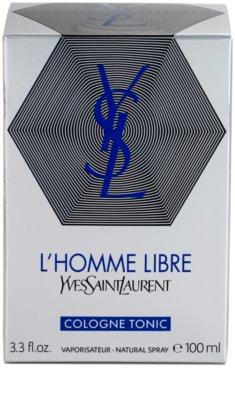 Yves Saint Laurent L´Homme Libre Cologne Tonic одеколон для чоловіків 4