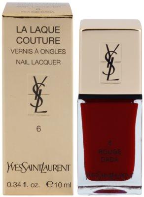 Yves Saint Laurent La Laquer Couture lak na nehty 1