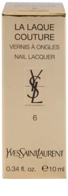 Yves Saint Laurent La Laquer Couture lak na nehty 2