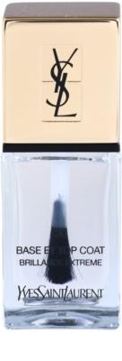 Yves Saint Laurent La Laquer Couture esmalte de uñas capa acabado para una protección perfecta y brillo intenso