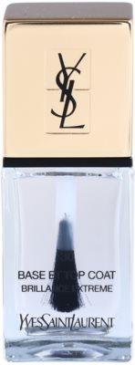 Yves Saint Laurent La Laquer Couture fedő lakk a körmökre a tökéletes védelemért és intenzív fényért