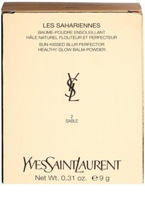 Yves Saint Laurent Les Sahariennes Creme em pó 4