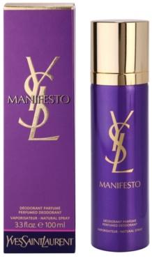 Yves Saint Laurent Manifesto desodorante con pulverizador para mujer