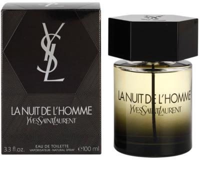 Yves Saint Laurent La Nuit de L'Homme Eau de Toilette pentru barbati