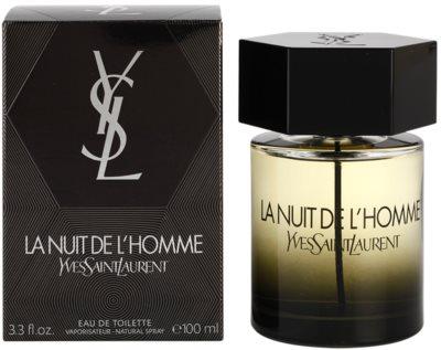Yves Saint Laurent La Nuit de L'Homme toaletní voda pro muže