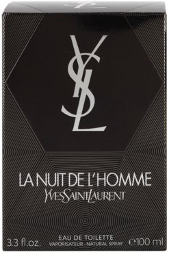 Yves Saint Laurent La Nuit de L'Homme Eau de Toilette pentru barbati 4
