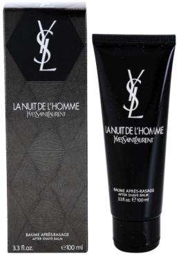 Yves Saint Laurent La Nuit de L'Homme borotválkozás utáni balzsam férfiaknak