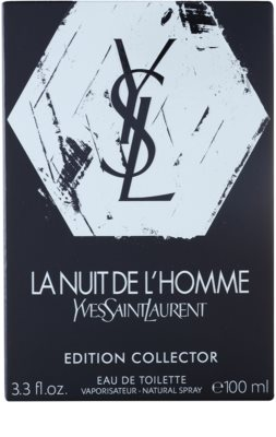 Yves Saint Laurent La Nuit de l´Homme Edition Collector тоалетна вода за мъже 4