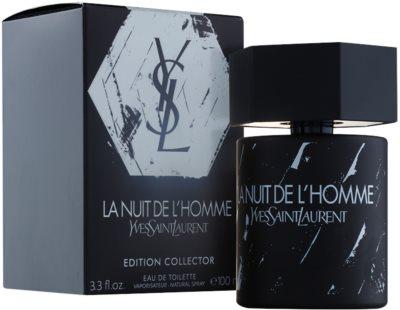 Yves Saint Laurent La Nuit de l´Homme Edition Collector тоалетна вода за мъже 1