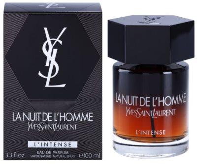 Yves Saint Laurent La Nuit de L'Homme L'Intense Eau de Parfum para homens