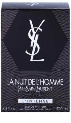 Yves Saint Laurent La Nuit de L'Homme L'Intense Eau de Parfum for Men 4