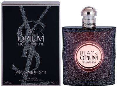 Yves Saint Laurent Black Opium Nuit Blanche eau de parfum para mujer