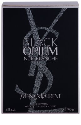 Yves Saint Laurent Black Opium Nuit Blanche парфюмна вода за жени 3
