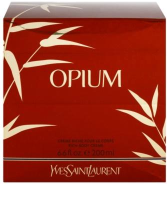 Yves Saint Laurent Opium 2009 crema corporal para mujer 1