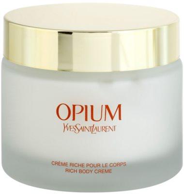 Yves Saint Laurent Opium 2009 crema corporal para mujer 2