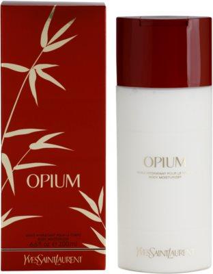Yves Saint Laurent Opium 2009 leche corporal para mujer