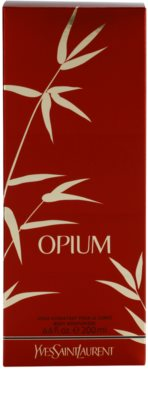 Yves Saint Laurent Opium 2009 Körperlotion für Damen 3