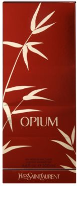 Yves Saint Laurent Opium 2009 sprchový gel pro ženy 3