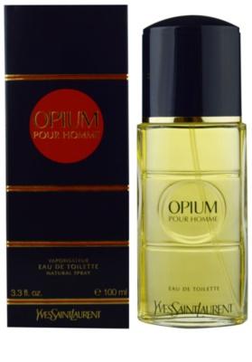 Yves Saint Laurent Opium pour Homme Eau de Toilette pentru barbati