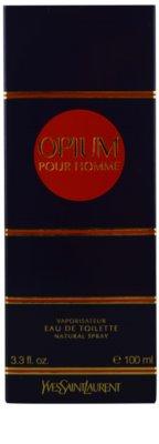 Yves Saint Laurent Opium pour Homme Eau de Toilette pentru barbati 3