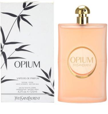 Yves Saint Laurent Opium Vapeurs de Parfum туалетна вода тестер для жінок 1