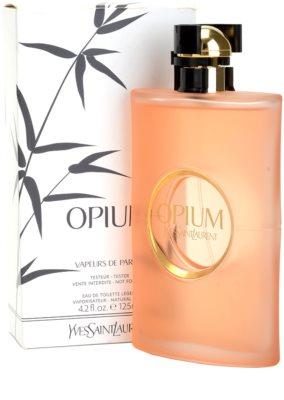 Yves Saint Laurent Opium Vapeurs de Parfum туалетна вода тестер для жінок 2