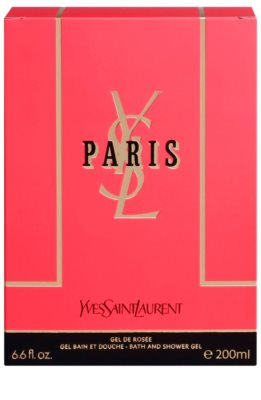 Yves Saint Laurent Paris gel za prhanje za ženske 3