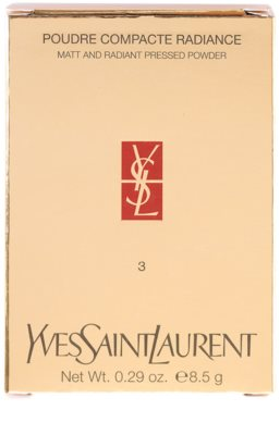 Yves Saint Laurent Poudre Compacte Radiance matující pudr 5