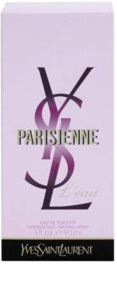 Yves Saint Laurent Parisienne L'Eau eau de toilette nőknek 4