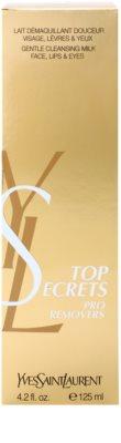 Yves Saint Laurent Top Secrets Pro Removers Loção desmaquilhante para rosto 3